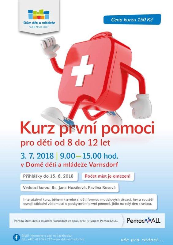 Kurz první pomoci pro děti