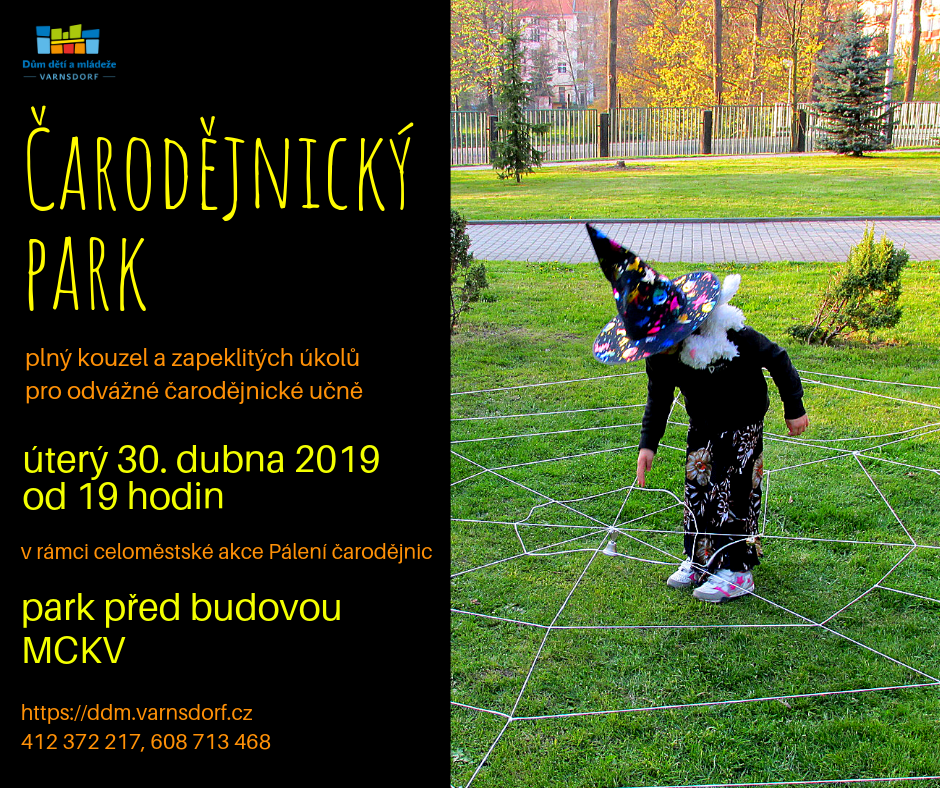 Čarodějnický park 2019