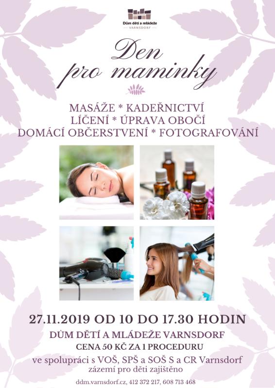 Předvánoční den pro maminky