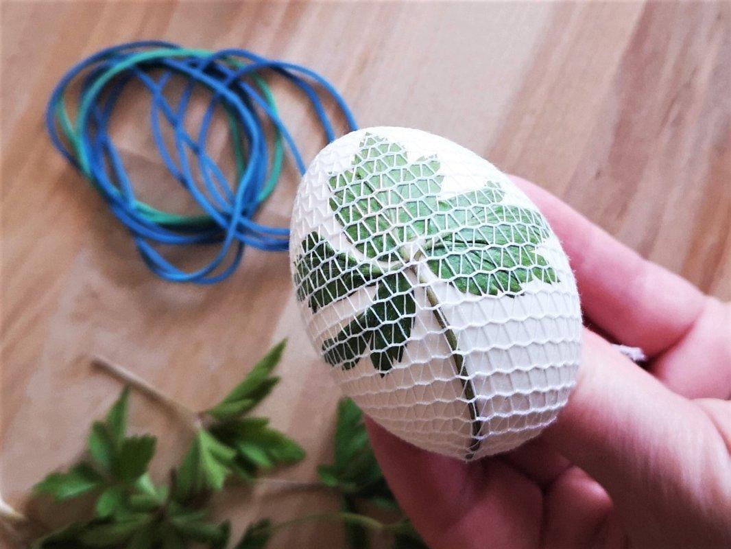 Velikonoční vajíčka v přírodním stylu