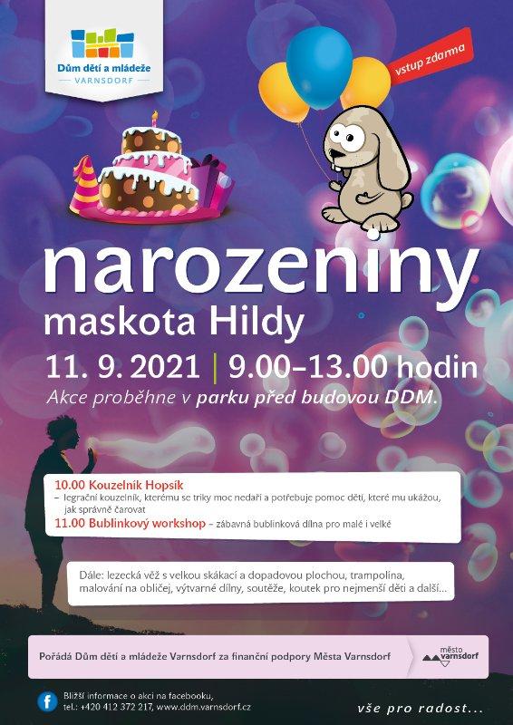 Zveme vás na narozeninovou oslavu